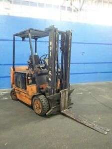 Yale Erc080hdn30sv002 Electric Forklift 8000 03190720002