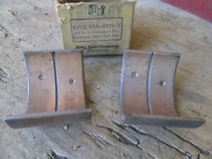 Nos Connecting Rod Bearing 0 002 99a 6211 V 1939 1940 1946 47 1948 Ford