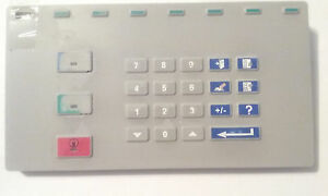 National Optronics Key Pad Assambly 94506 For Parts Or Repair
