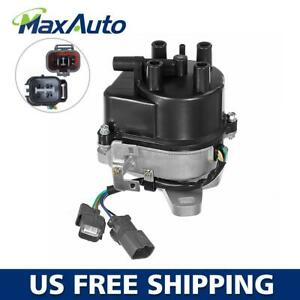 Maxauto Ignition Distributor For Honda Prelude 97 01 External Coil Fits Td 77u
