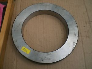 Bowers 5 5001 Bore Gage Setting Ring With Wood Storage Case