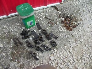 Cockshutt 30 Tractor Cs30 Engine Motor Rocker Arm Parts Pieces Bolts Nuts