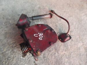 International 300 Utility Tractor Orgal Ih Engine Motor Governor Assembly Case