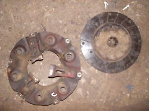 Farmall C Ih Engine Motor Flywheel Clutch Pressure Plate Assembly