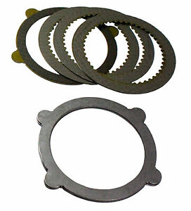 Ypkf9 Pc L Yukon Ford 8 Or 9 Posi Clutch Plate Disc Kit For Ford 4 Tab Tracloc