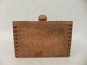 Antique Primitive Wooden Butter Press Homestead Farming Kitchen Tool Hand Made