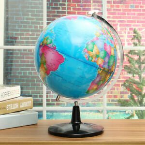 Big Rotating Globe World Map Of Earth Geography Home Decor Class Learning 12 5