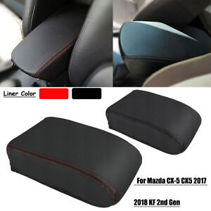 Pu Center Console Seat Armrest Console Pad Cover For Mazda Cx 5 Cx5 2017 2018