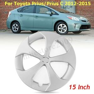 15 5 Spoke Hub Cap Wheel Cover For Toyota Prius 2012 2013 2014 2015 61167
