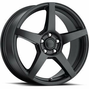 18x8 Black Voxx Mga Wheels 5x120 40 Fits Land Rover Range Rover Discovery