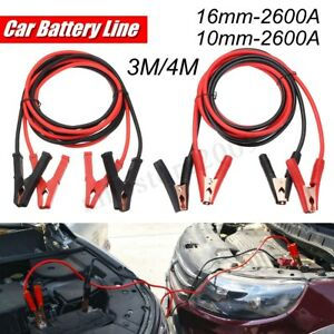 2600a Car Truck Battery Line Emergency Power Supply Cord Booster Jumper Cable 4m