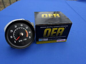 New 71 72 Chevelle Ss Monte Carlo Tachometer 400 454 Ls3 Ls5 Oer Parts 5657406