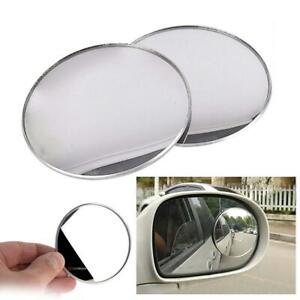 3inch 2pcs Cardeco Puzzle Plus Alpha Circle Mirror Blind Spot Rear Side View