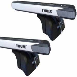 Thule Rapid Roof Luggage Rack Aluminum Tubes Si Slidebar For Volvo Xc60 753 891