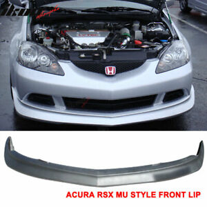 Fits 05 06 Acura Rsx Dc5 Mugen Style Front Bumper Lip Urethane