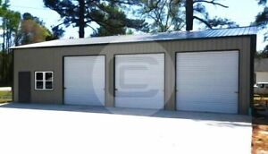 30 51 Clear Span Garage free Delivery Installation