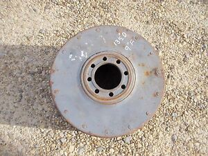 Farmall 400 450 560 460 W9 W6 M Sm Tractor Big Ih Paper Belt Pulley 13 1 2 X 9