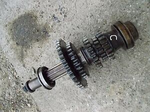 Farmall C Tractor Transmission Top Upper Drive Gear Gears W Shaft