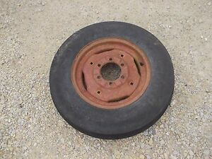 Farmall 460 560 656 Tractor Ih Ihc Rim Good 6 00x 16 3 Rib Firestone Tire