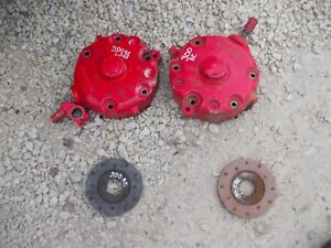 Farmall 300 Super H 350 Tractor Ih Disc Disk Brake Brakes Assemblies W Covers