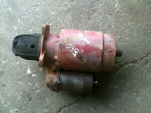 Farmall 560 Tractor Ih Ihc 12v Good Working Starter Assembly W Sylnoid