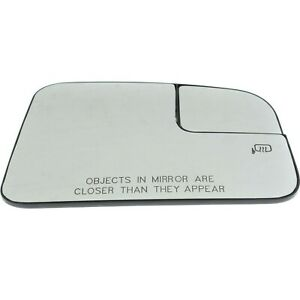 New Mirror Glass Passenger Right Side Heated Rh Hand Ford Edge Mkx 9t4z17k707b