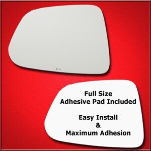 Mirror Glass Full Adhesive For 12 15 Chevy Captiva Sport Driver Side Replaceme