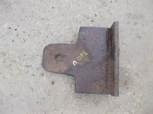 International 350 300 Utility Ih Tractor Front Hitch Push Plate