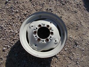 Farmall Ih 460 560 Tractor 16 X4 1 4 Press Style Mount Front Rim For Tire To Hub