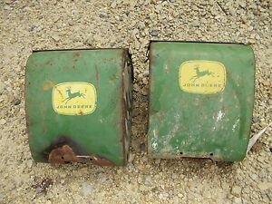 John Deere Corn Planter Good Original Jd Fertilizer Box Boxes W Lid