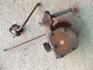 Farmall H Hv Early Sh Tractor Ih Engine Motor Governor Assembly