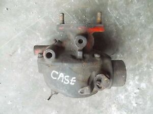 Case 530 Tractor Original Working Engine Motor Carburetor Assembly Marvel Case
