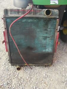 Farmall 656 Rc Utility Tractor Original Ih Ihc Engine Motor Radiator Assembly