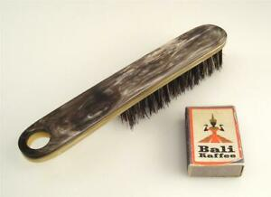 New Old Stock Carl Aubock Workshop Hair Brush Horn 1950s 60s Vienna 9