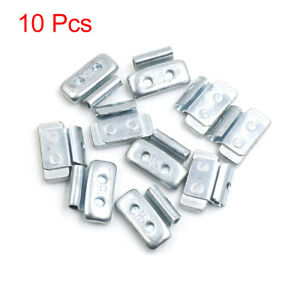 15g Clip On Metal Wheel Balance Weights For Motorcycle Car 27 5 X 19 5mm 10pcs