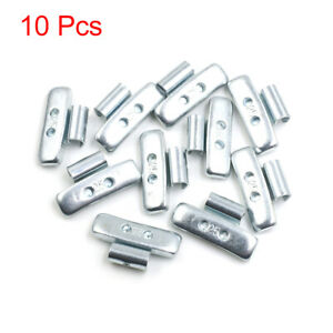 25g Clip On Tyre Wheel Balance Weights For Motorcycle Car 41 X 21 5mm 10pcs
