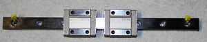 Iko Lwl12b Linear Bearing Way Slide Stage Block Guide Rail Set Assembly 200mm