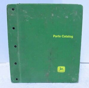 Vintage John Deere Parts Catalog Drills Plow Press Grain Fertilizer Etc