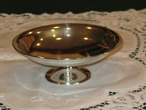 Redlich Co 2915b Sterling Silver 6 1 16 Pedestal Candy Condiment Dish Compote