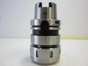 2 End Mill Milling Chuck 2 Hole Diameter Hsk100a Shank Taper New