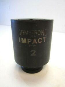 Armstrong 21 264 Impact 2 Standard Depth Socket 6 Point 3 4 Drive New