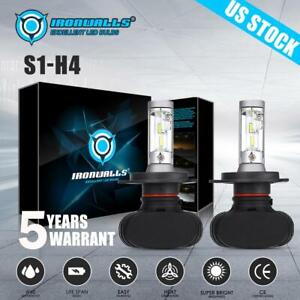 H4 9003 Hb2 Led Headlight Bulb Conversion Kit High Low Beam 1800w 6000k 270000lm
