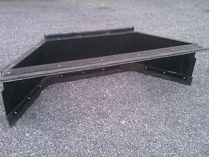 New 7 84 Skid Steer Loader Manure Scraper snow Pusher Amish Made tractor Plow