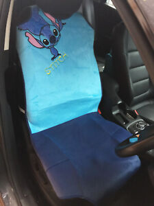 Lilo Stitch Disney Car Truck Van Suv Accessory 1 Piece Car Seat Cover Blue