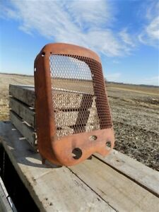 Allis Chalmers Ca Tractor Front Radiator Grill Guard Vintage Hood Steampunk A