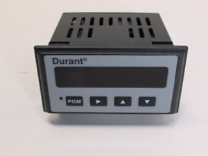 Durant 57701 401 Eclipse Series Digital Dc Voltmeter Ac Power Relay Output New