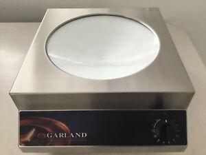 Garland Induction Countertop Commercial Wok Range Gi wok3 5 208v never Used