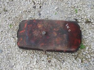 Allis Chalmers Styled Wc Tractor Ac Engine Motor Nice Orig Dent Free Oil Pan