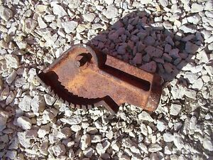 Allis Chalmers Wc Ac Tractor Fan Tooth Mounting Bracket Throttle Lever Control