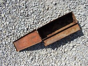 Allis Chalmers Ac Wc Tractor Tool Box With Lid